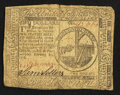 Colonial Notes:Continental Congress Issues, Continental Currency February 17, 1776 $2 Fine.. ...