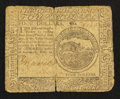 Colonial Notes:Continental Congress Issues, Continental Currency February 26, 1777 $4 Very Good, Tear.. ...