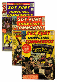 Sgt. Fury and His Howling Commandos Group (Marvel, 1964-75) Condition: Average GD.... (Total: 50 Comic Books)