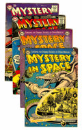 Golden Age (1938-1955):Science Fiction, Mystery in Space Group - Savannah pedigree (DC, 1953-59) Condition:Average VG+.... (Total: 4 Comic Books)