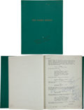 "Movie/TV Memorabilia:Memorabilia, An Annotated Script from ""The Green Berets.""... (Total: 2 )"