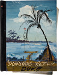 "Movie/TV Memorabilia:Memorabilia, A Working Script from ""Donovan's Reef.""..."