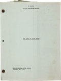 "Movie/TV Memorabilia:Memorabilia, A Working Script from ""The Sons of Katie Elder.""..."