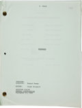 "Movie/TV Memorabilia:Memorabilia, A Script from ""El Dorado.""..."