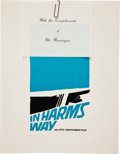 "Movie/TV Memorabilia:Memorabilia, A Script from ""In Harm's Way.""..."