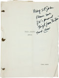 "Movie/TV Memorabilia:Memorabilia, A Script from ""Rio Bravo.""..."
