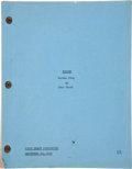 "Movie/TV Memorabilia:Memorabilia, A Script from ""Tycoon.""..."