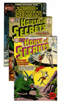 Silver Age (1956-1969):Mystery, House of Secrets Group - Savannah pedigree (DC, 1961-72) Condition:Average VF-.... (Total: 10 Comic Books)