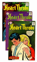 Golden Age (1938-1955):Romance, Heart Throbs Group - Savannah pedigree (DC, 1960-71) Condition:Average VF+.... (Total: 8 Comic Books)