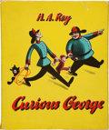 Books:First Editions, H. A. Rey. Curious George. Boston: Houghton Mifflin, 1941.First edition. Quarto. Unpaginated. Illustrations by ...