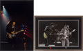 Music Memorabilia:Autographs and Signed Items, Stevie Ray Vaughan Limited Edition Live Concert Photos.... (Total:2 )