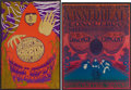 Music Memorabilia:Posters, Cream/Paul Butterfield Blues Band Fillmore Concert Poster BG-79 andCanned Heat Vulcan Gas Company Concert Poster VG21 Group (...(Total: 2 Items)