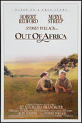 """Movie Posters:Drama, Out of Africa (Universal, 1985). One Sheet (27"""" X 41""""). Drama.. ..."""