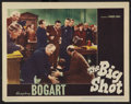 """Movie Posters:Crime, The Big Shot (Warner Brothers, 1942). Lobby Card (11"""" X 14"""").Crime.. ..."""