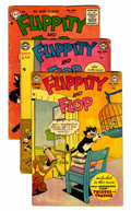 Golden Age (1938-1955):Funny Animal, Flippity and Flop Group (DC, 1954-60) Condition: Average GD-....(Total: 17 Comic Books)