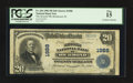 National Bank Notes:Indiana, Richmond, IN - $20 1902 Plain Back Fr. 654 The Second NB Ch. #1988. ...