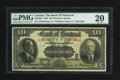 Canadian Currency: , Montreal, PQ- Bank of Montreal $10 Jan. 2, 1923 Charlton505-56-04.. ...
