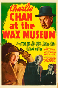 """Charlie Chan at the Wax Museum (20th Century Fox, 1940). One Sheet (27"""" X 41"""")"""
