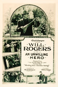 "Movie Posters:Comedy, An Unwilling Hero (Goldwyn, 1921). Rotogravure One Sheet (27"" X41"").. ..."