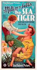 """Movie Posters:Drama, The Sea Tiger (First National, 1927). Three Sheet (41"""" X 81"""").. ..."""