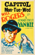 "Movie Posters:Comedy, A Connecticut Yankee (Fox, 1931). Window Card (14"" X 22"").. ..."
