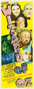 "Movie Posters:Fantasy, The Wizard of Oz (MGM, 1939). Insert (14"" X 36"").. ..."
