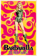 "Movie Posters:Science Fiction, Barbarella (Paramount, 1968). Poster (40"" X 60"").. ..."