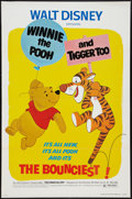 "Movie Posters:Animated, Winnie the Pooh and Tigger Too! (Buena Vista, 1974). One Sheet (27""X 41"") Flat Folded. Animated.. ..."