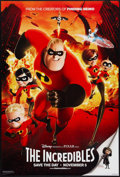 "Movie Posters:Animated, The Incredibles (Buena Vista, 2004). One Sheet (27"" X 40"") DSAdvance. Animated.. ..."