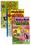 Bronze Age (1970-1979):Cartoon Character, Richie Rich and Gloria File Copies Group (Harvey, 1977-82)Condition: Average NM-.... (Total: 65 Comic Books)
