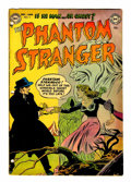 Golden Age (1938-1955):Horror, The Phantom Stranger #3 (DC, 1953) Condition: Qualified GD/VG....