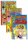 Bronze Age (1970-1979):Cartoon Character, Richie Rich and His Girlfriends File Copies Group (Harvey, 1979-82)Condition: Average NM-.... (Total: 36 Comic Books)
