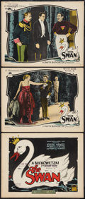 "Movie Posters:Romance, The Swan (Paramount, 1925). Title Card and Lobby Cards (2) (11"" X14""). Romance.. ... (Total: 3 Items)"