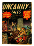 Golden Age (1938-1955):Horror, Uncanny Tales #1 (Atlas, 1952) Condition: GD....