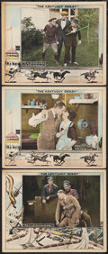 "Movie Posters:Sports, The Kentucky Derby (Universal, 1922). Lobby Cards (3) (11"" X 14""). Sports.. ... (Total: 3 Items)"