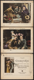 """Movie Posters:Comedy, 45 Minutes from Broadway (First National, 1920). Title Lobby Card and Lobby Card (2) (11"""" X 14""""). Comedy.. ... (Total: 3 Items)"""