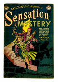 Golden Age (1938-1955):Horror, Sensation Mystery #115 (DC, 1953) Condition: GD/VG....