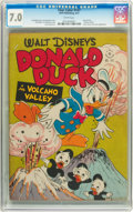 Golden Age (1938-1955):Cartoon Character, Four Color #147 Donald Duck (Dell, 1947) CGC FN/VF 7.0 Whitepages....