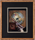 Music Memorabilia:Original Art, Alton Kelley Dead and the West Original Artwork (1991)....