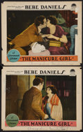 """Movie Posters:Romance, The Manicure Girl (Paramount, 1925). Lobby Cards (2) (11"""" X 14""""). Romance.. ... (Total: 2 Items)"""