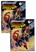 Magazines:Superhero, Spectacular Spider-Man #2 (Marvel, 1968) Condition: Average VF....(Total: 10 Comic Books)