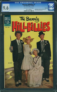 Beverly Hillbillies #7 - File Copy (Dell, 1964) CGC NM+ 9.6 Off-white to white pages
