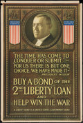 "Movie Posters:War, War Propaganda Poster (U.S. Government, 1917). World War I Poster(20"" X 30"") ""Buy a Bond."" War.. ..."