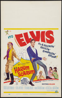 "Harum Scarum (MGM, 1965). Window Card (14"" X 22""). Elvis Presley"