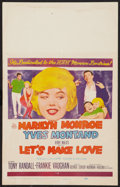 """Movie Posters:Comedy, Let's Make Love (20th Century Fox, 1960). Window Card (14"""" X 22""""). Comedy.. ..."""