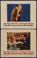 """Movie Posters:Romance, The Prince and the Showgirl (Warner Brothers, 1957). Lobby Cards (2) (11"""" X 14""""). Romance.. ... (Total: 2 Item)"""