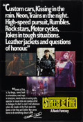 """Movie Posters:Action, Streets of Fire (Universal, 1984). British One Sheet (27"""" X 39.5""""). Action.. ..."""
