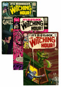 Silver Age (1956-1969):Horror, The Witching Hour Group (DC, 1969-76) Condition: Average VF+....(Total: 21 Comic Books)