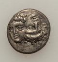 Ancients:Ancient Lots  , Ancients: Lot of two Moesian AR Drachms from Istros (2). ... (Total: 2 coins)