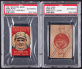 Baseball Cards:Lots, 1920's Schapira Bros. and W560 Babe Ruth Cards PSA-Authentic Pair(2). ...